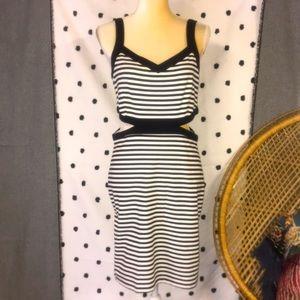 Jack BB Dakota Striped Dress